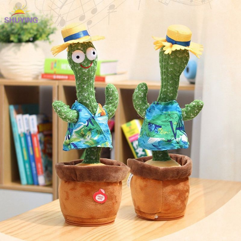 Smart Cactus Doll Talking Talking Dancing Toy Record Record