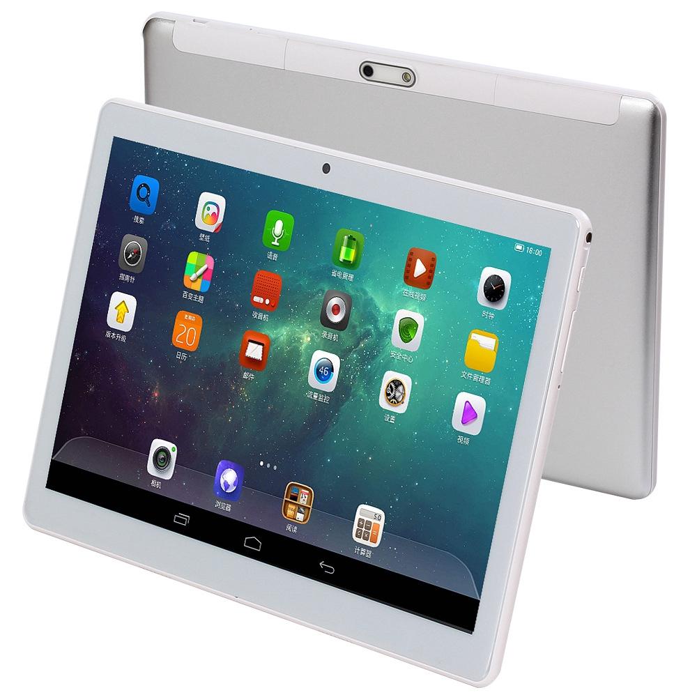 ღღ現貨免運ღღ平板電腦ღღ學習平板電腦ღღ10寸平板電腦四核6.0安卓ISP高清打電話WiFi 2.5D鋼化