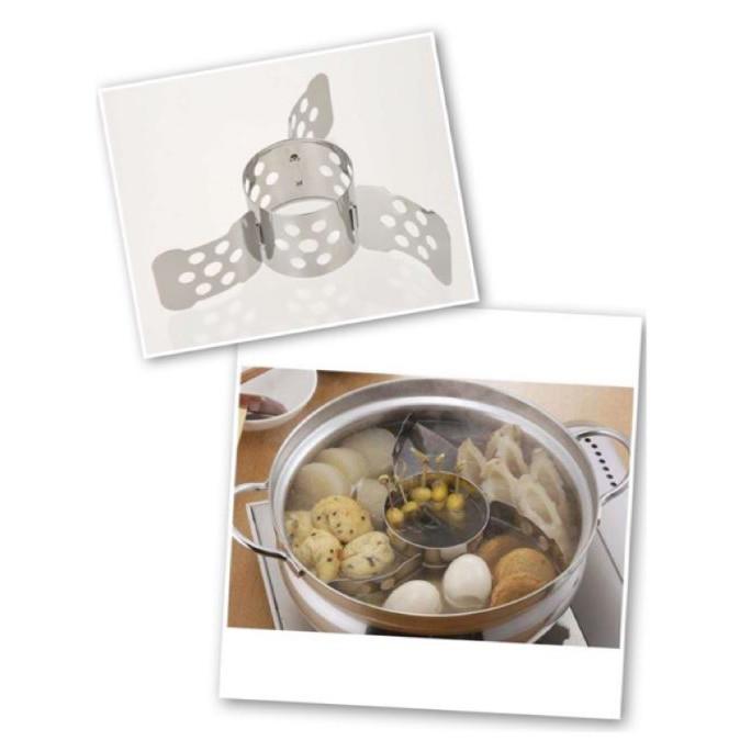 【寶寶王國】日本製 下村企販 不鏽鋼火鍋 關東煮分隔架