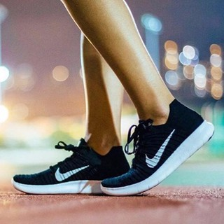 現貨Nike Free Flyknit 5.0 黑色 黑白 編織 赤足 透氣 慢跑鞋 情侶鞋 831069-001 臺南市