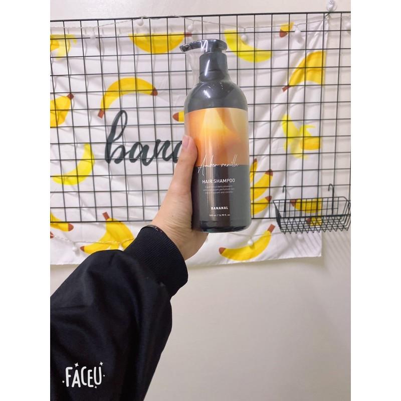 二手 全新 Bananal 韓國胺基酸香氛調理 洗髮精 潤髮乳