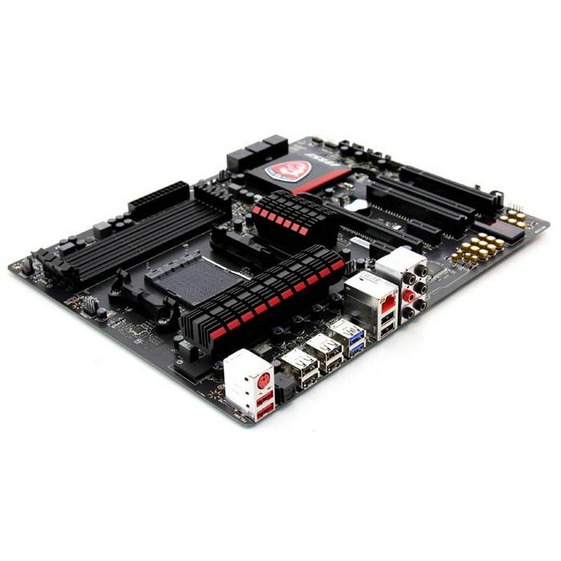 裝機精選~MSI/微星970 GAMING AM3/AM3+970殺手網卡主機板支持FX8350 9590