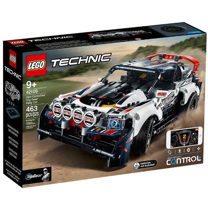 [想樂]全新 樂高 Lego 42109 Technic 科技 Top Gear 拉力賽車