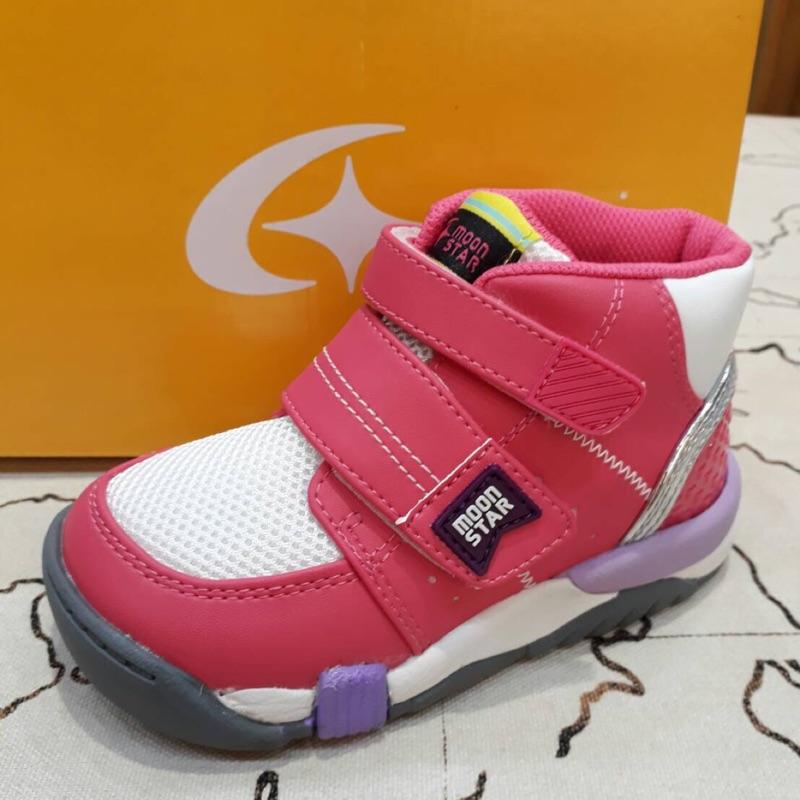 Moonstar矯正鞋 粉色