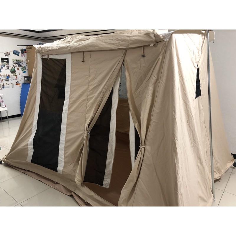 GTD美式弓型帳復古棉布露營戶外野營帳篷出租
