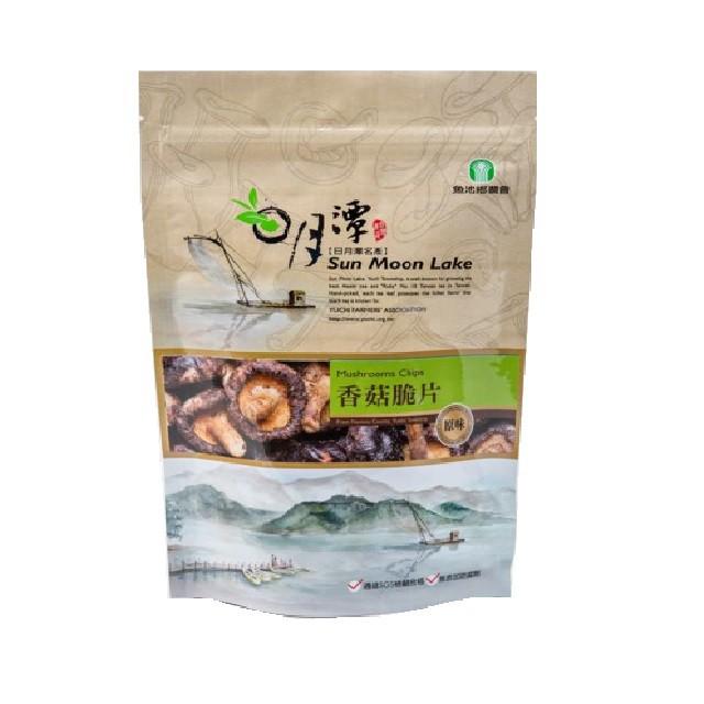 【魚池鄉農會】香菇脆片(原味) 90公克/包-台灣農漁會精選