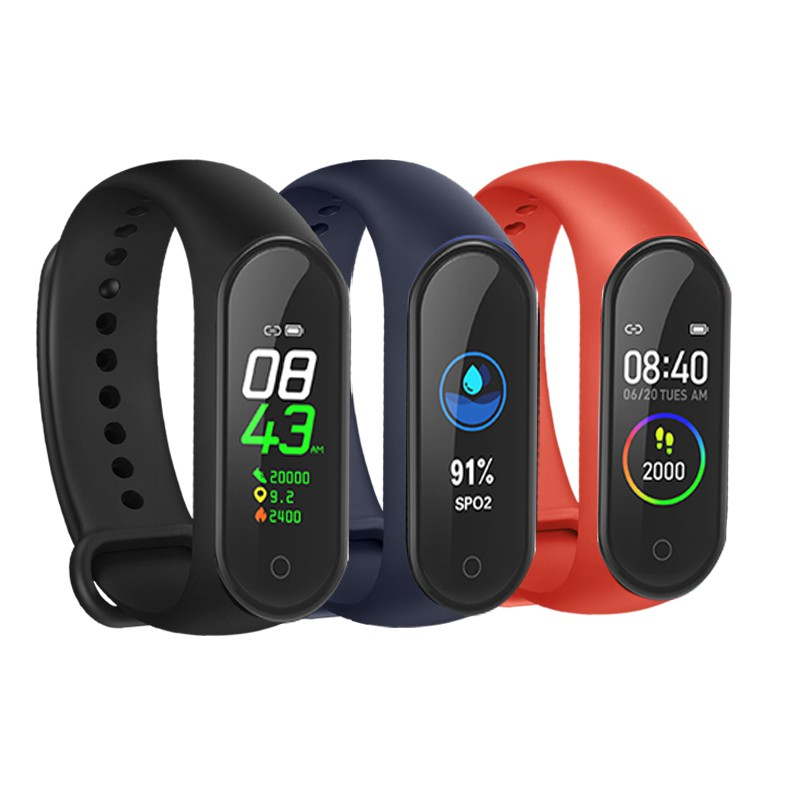 M4健康智能手環 送環帶 智慧手環 智能手環 智慧手環 智慧手錶 自動偵測睡眠 支援多種運動 非小米手環
