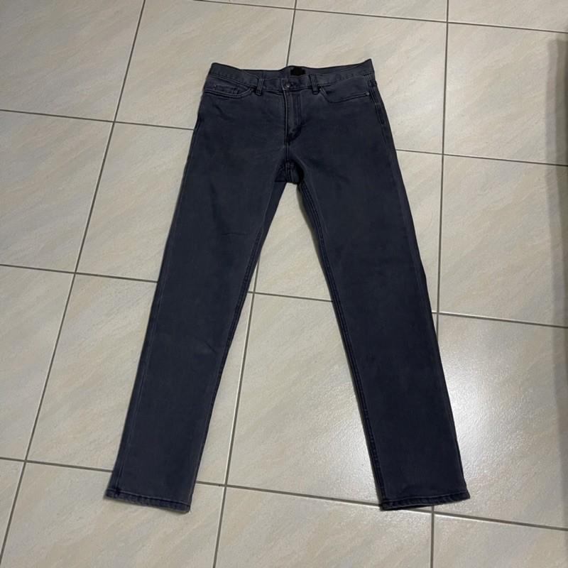 客訂 二手 男生 H&M 灰黑牛仔褲 + Banana republic 牛仔褲 長褲