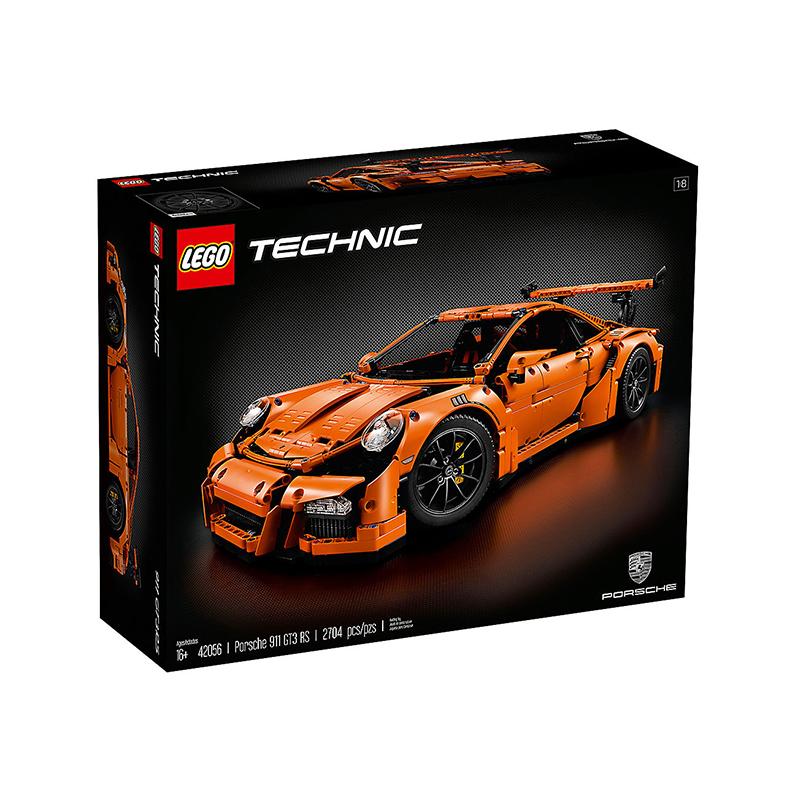 新產品LEGO樂高42056積木 911 GT3 RS保時捷超級跑車科技組機械組玩具