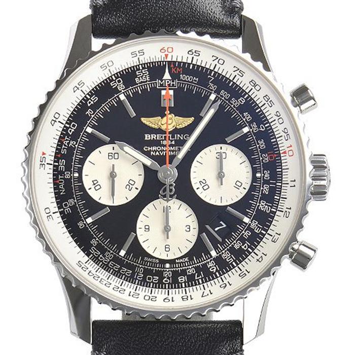 ◤奢侈手錶◢Breitling百年靈男錶自動機械A022B01二手錶瑞士原裝正品AB012012