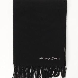 降價↘︎【現貨在台】日本限定 To b. by agnes b.(黑色)單色 羊毛圍巾 披巾 披肩【日本帶回】 桃園市