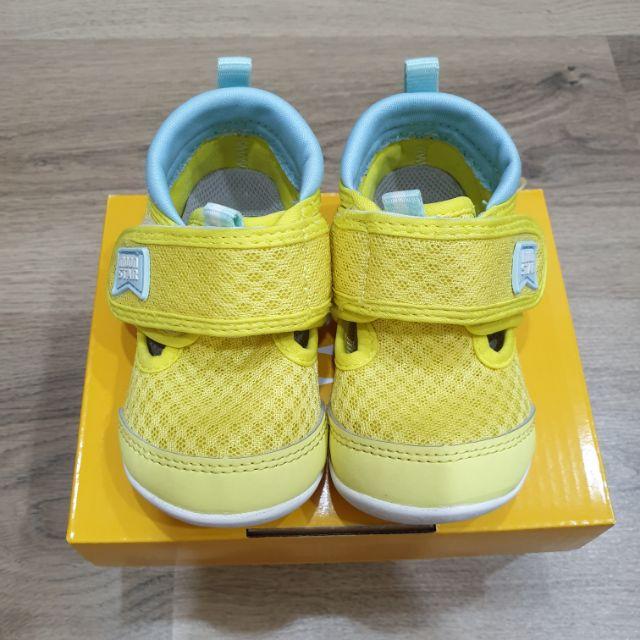 二手月星Moonstar 12.5CM 男女寶網眼涼鞋 學走鞋 學步鞋 機能鞋 童鞋