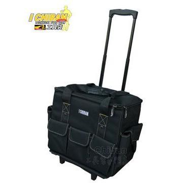 <工具殿堂> I CHIBAN 一番 JK1502 大容量拉桿袋 伸縮拉桿設計 大型拉桿工具袋 一級棒工具袋專家
