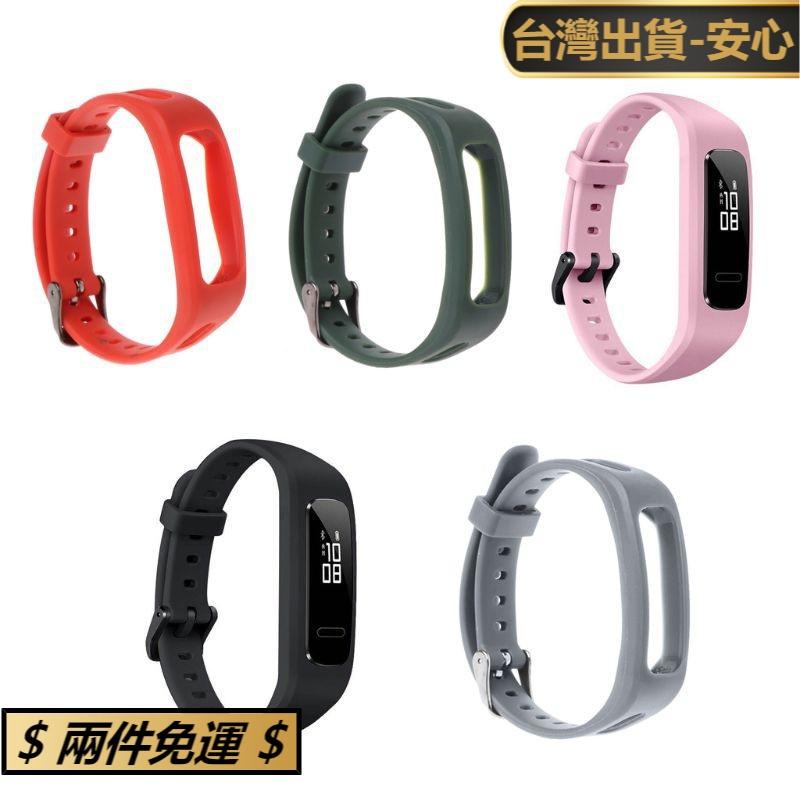 紅藍天貓⚡華為 3e / Honor Band 4 跑步版的腕帶錶帶 Tpu 可調手鍊運動更換