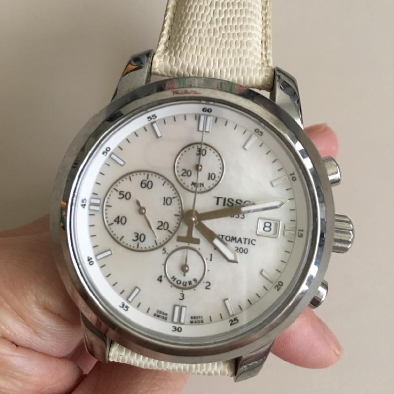 TISSOT 1853 貝殼機械錶