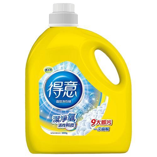 得意 高效洗衣精3000ml【愛買】