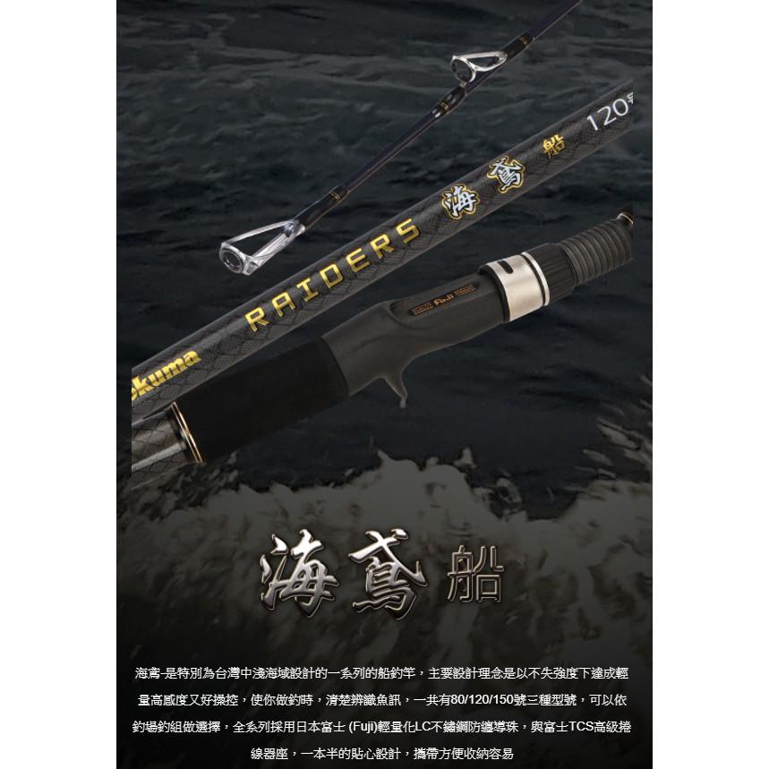 摸魚釣具🐠OKUMA 船竿 海鳶 海釣 釣竿