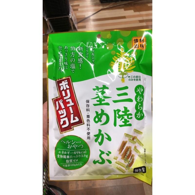 日本預計12月到貨 情熱價格 醋味昆布 醋味海帶