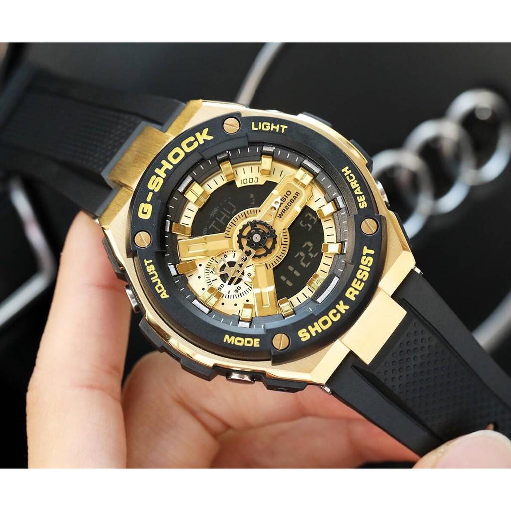 【全館免運】玟玟卡西歐錶 casio G-SHOCK T400系列 電子錶 賽車錶 男女手錶腕錶三防運動錶 休閒時尚表