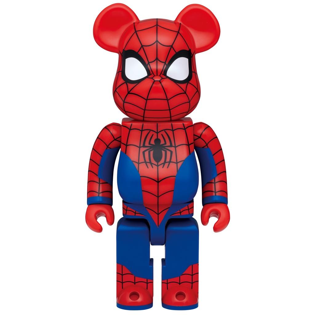 【ZAjapan】日本代購 BE@RBRICK MARVEL 2021 一番賞 最後賞 蜘蛛人 400% Happyくじ