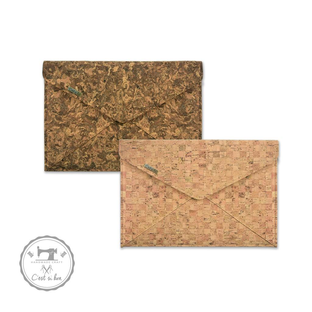 【C'est Si Bon】手感軟木手拿包/信封包-2款 收納隨身包