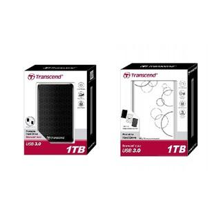 TRANSCEND 創見 StoreJet 25A3 2.5吋 1TB 2TB 懸吊防震 黑 白 可攜式外接硬碟 硬碟 高雄市