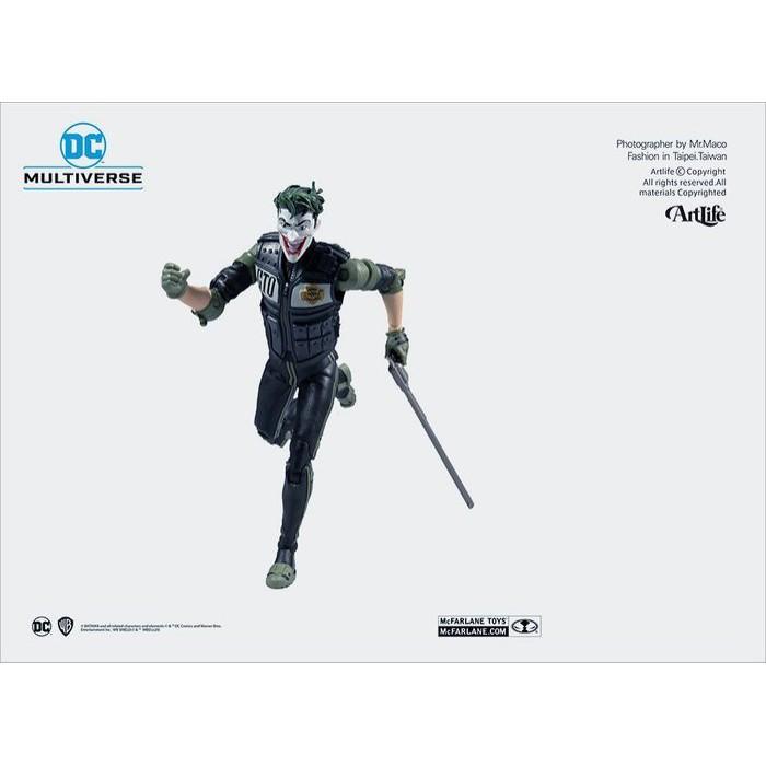 Artlife ㊁ McFarlane DC MULTIVERSE BATMAN JOKER 麥法蘭 白衣騎士 小丑