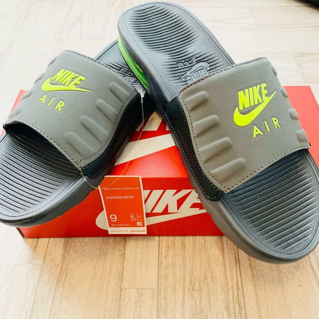 多色可選 Nike Air Max Camden Slide Sandal 氣墊 運動 拖鞋 BQ4626-004