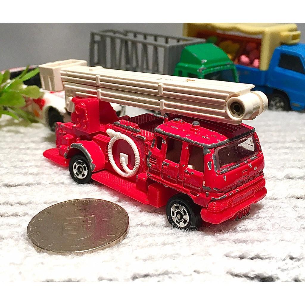 Tomica Snorkel 早期 雲梯車 消防車 No.68 玩具車 多美 P