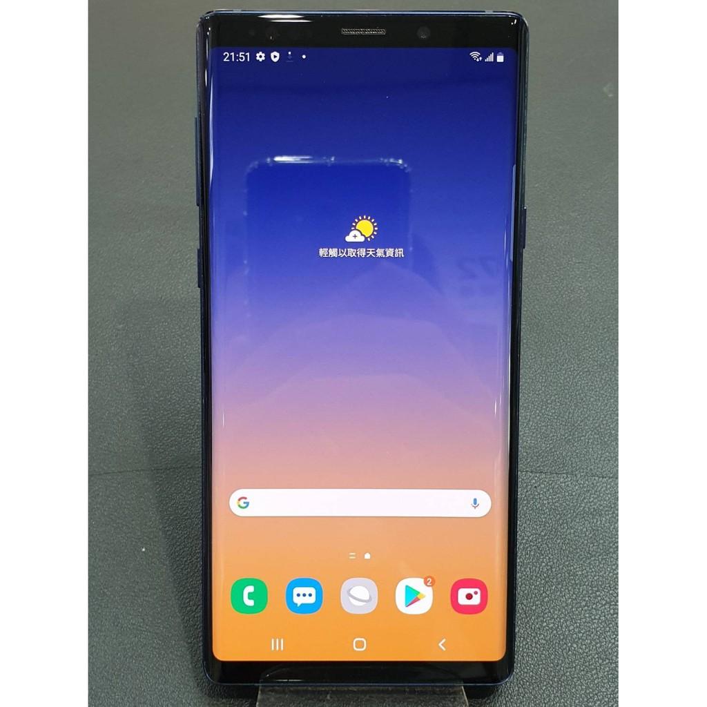 Samsung 三星 二手 中古 Galaxy Note 9 128G 藍 雙北可面交寄送(務必詢問有無現貨)