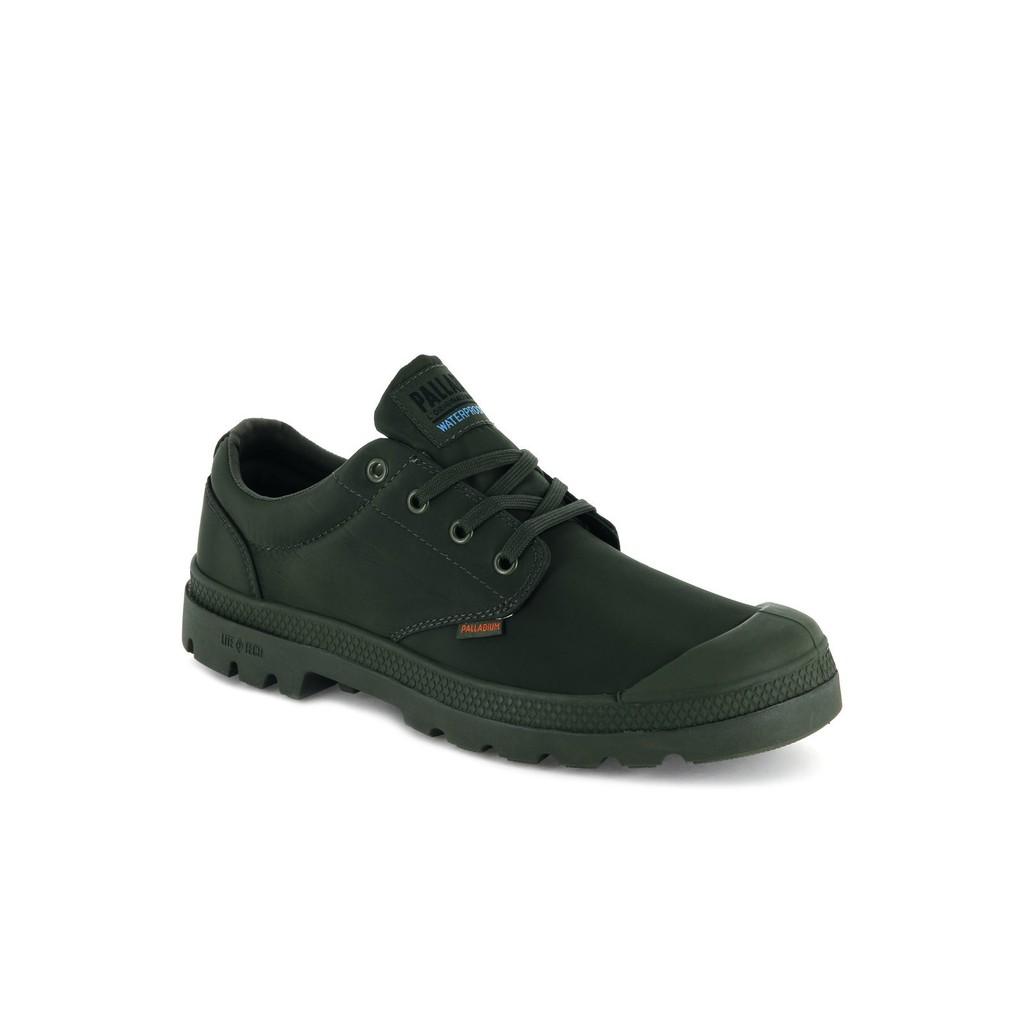 PALLADIUM PAMPA OX PUDDLE LT+ WP 防水 輕量軍靴 男女 軍綠 76116303