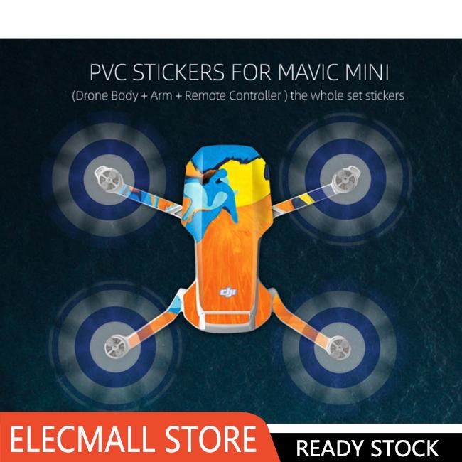 【 Elecmall 】 Dji Mavic Mini 貼紙 Dji Mavic Mini 貼紙
