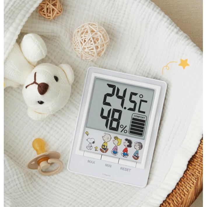 韓國代購 snoppy 史努比 溫度濕度計 10x10預購