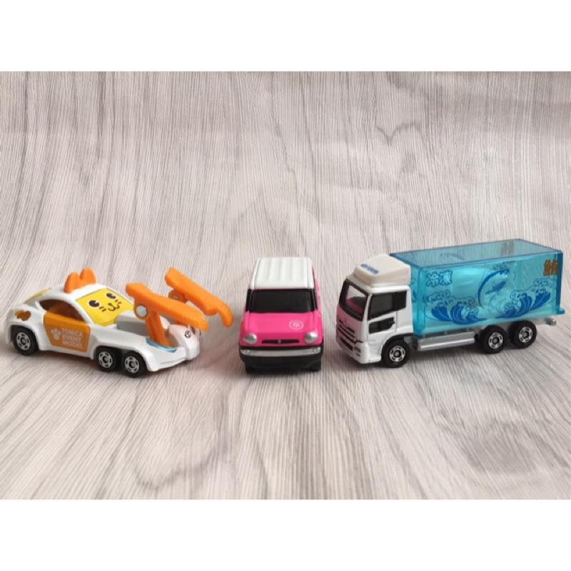 日本 TOMICA 會場限定版 貓咪車 冷凍鮪魚車 多美 卡通車