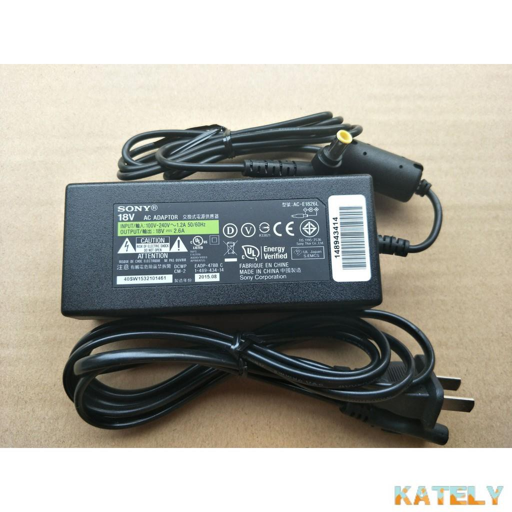 Kately優選18V原裝sony SRS-X7音箱電源適配器充電器送線SRS-D8 SRS-X77