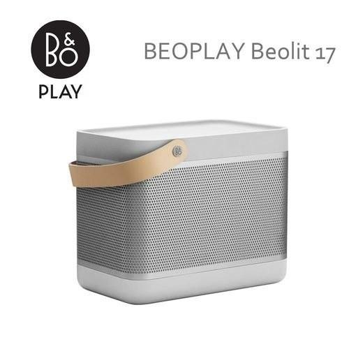 B&O PLAY BEOLIT17 BEO-LIT17 無線藍牙喇叭 原廠公司貨 星光銀 / 石墨灰 (福利品)