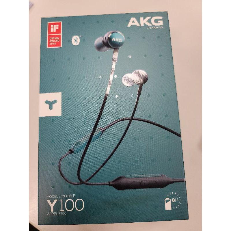 AKG Y100 Wireless 無線藍牙耳道式耳機 支援AAC高音質連線