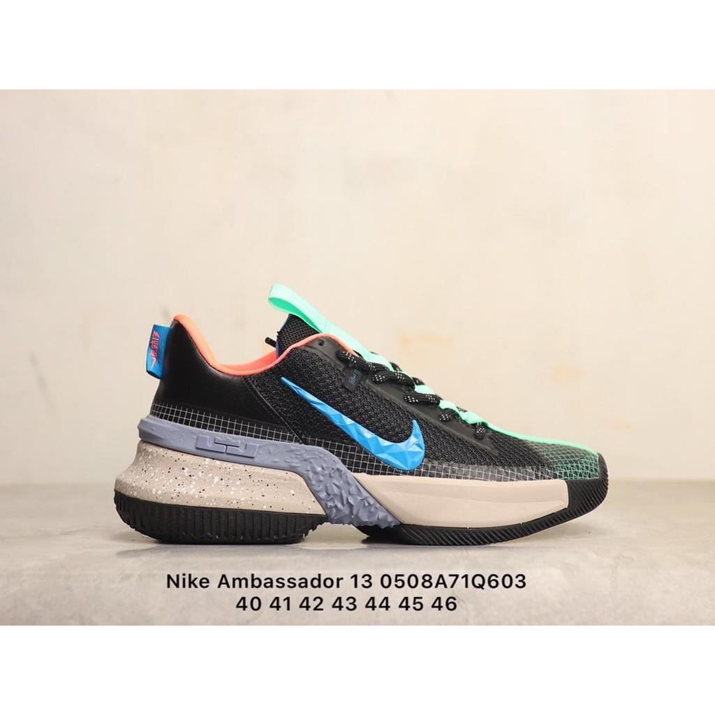 耐吉Nike Ambassador 13 使節13 藍米黑