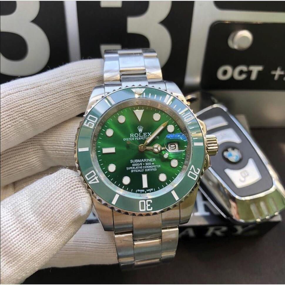 Rolex-勞力士 男士機械潛行者黑水鬼 綠水鬼 藍寶石鏡面 全自動機械錶 水鬼系列 時尚男錶 男士腕錶