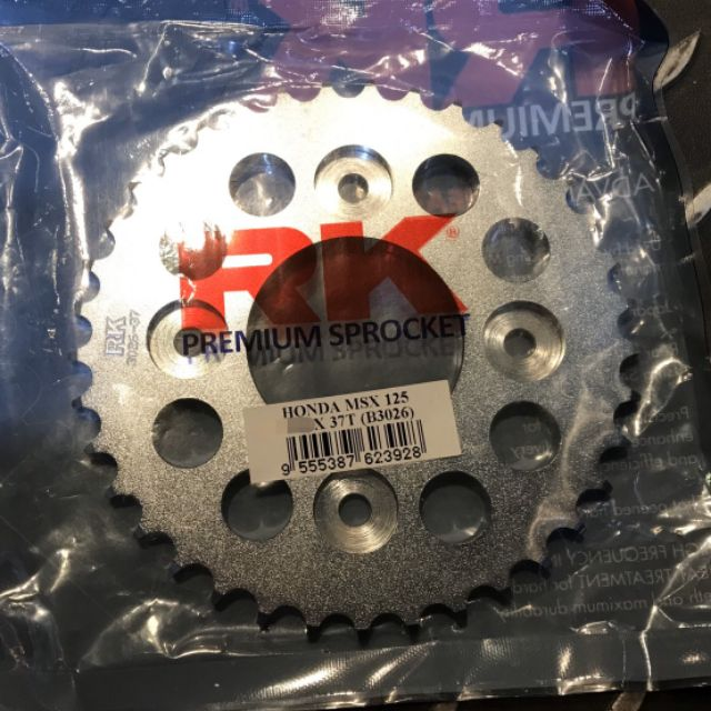 『XZ』RK420齒盤 前齒盤/後齒盤 高碳鋼 HONDA MSX125/GROM125可用