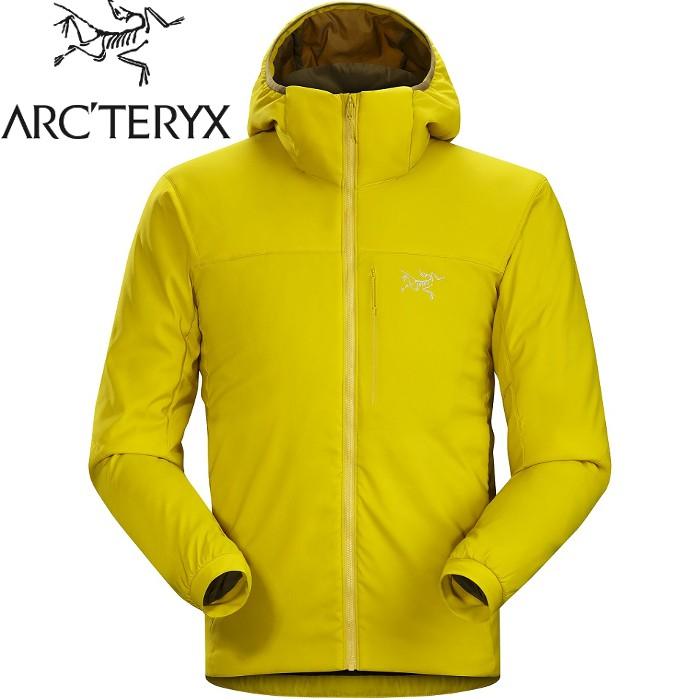 Arcteryx 始祖鳥 化纖連帽外套/保暖外套/風衣/登山攀岩外套 Proton LT 男款 18354 芥末黃