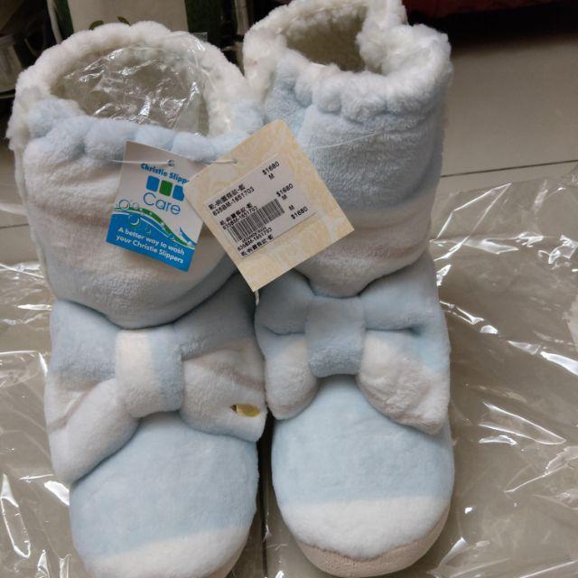 (5折)kanaii boom可愛室內鞋-條紋粉藍色