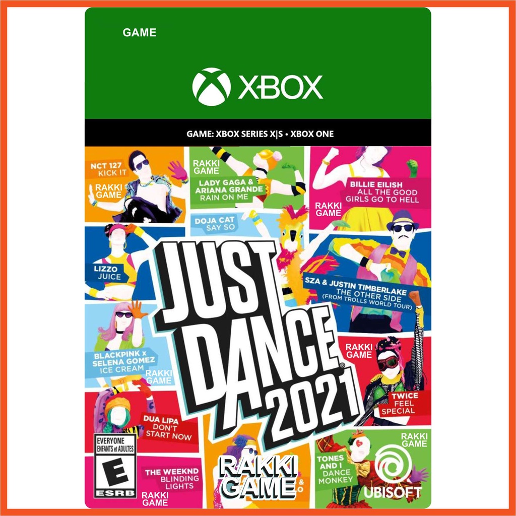 [正版序號]XBOX ONE Series X S 舞力全開2021 kinect 體感 Just Dance 2021