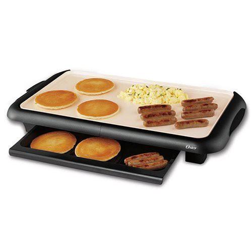 美國OSTER BBQ 陶瓷 電烤盤 CKSTGRFM18W-TECO