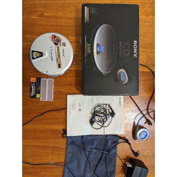 SONY D-E01 EJ01 索尼CD隨身聽 20周年紀念機