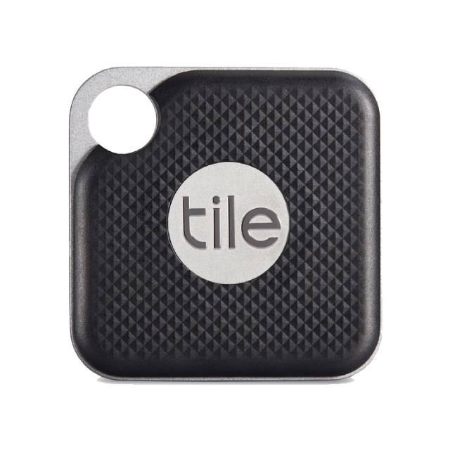 【Tile】防丟小幫手- Pro可換電池 黑色(1入組) 美國智能藍牙追蹤器 防丟 尋物-裸裝