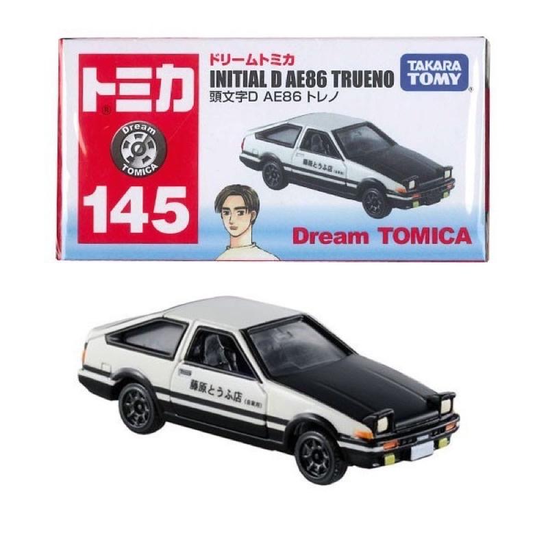 絕版 Dream Tomica no.145 INITIAL D AE86 TRUENO 頭文字D藤原 拓海 黑蓋
