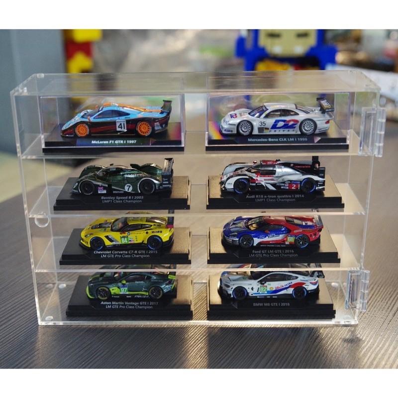 全新透明壓克力展示盒 防塵收納 711 超商集點 經典模型車 跑車賽車 展示模型 1:64 1:43