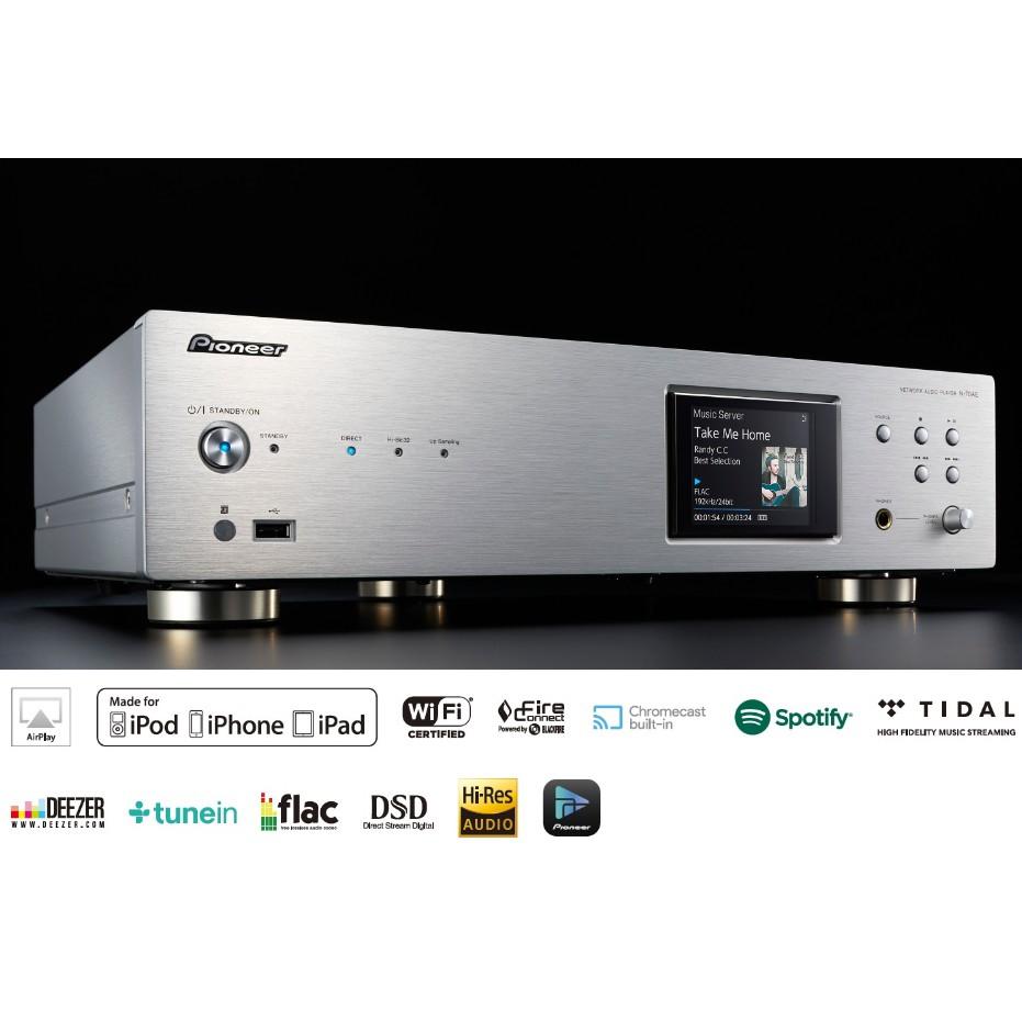 先鋒 Pioneer N-70AE 數位流播放機 耳擴 MQA