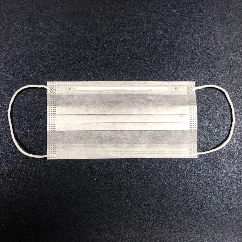 【現貨】無塵室口罩 二層 雙層 兩層 不織布 ES 口罩 防塵 非醫療用 50入/包 真空包裝 工業 科技 食品 清淨室